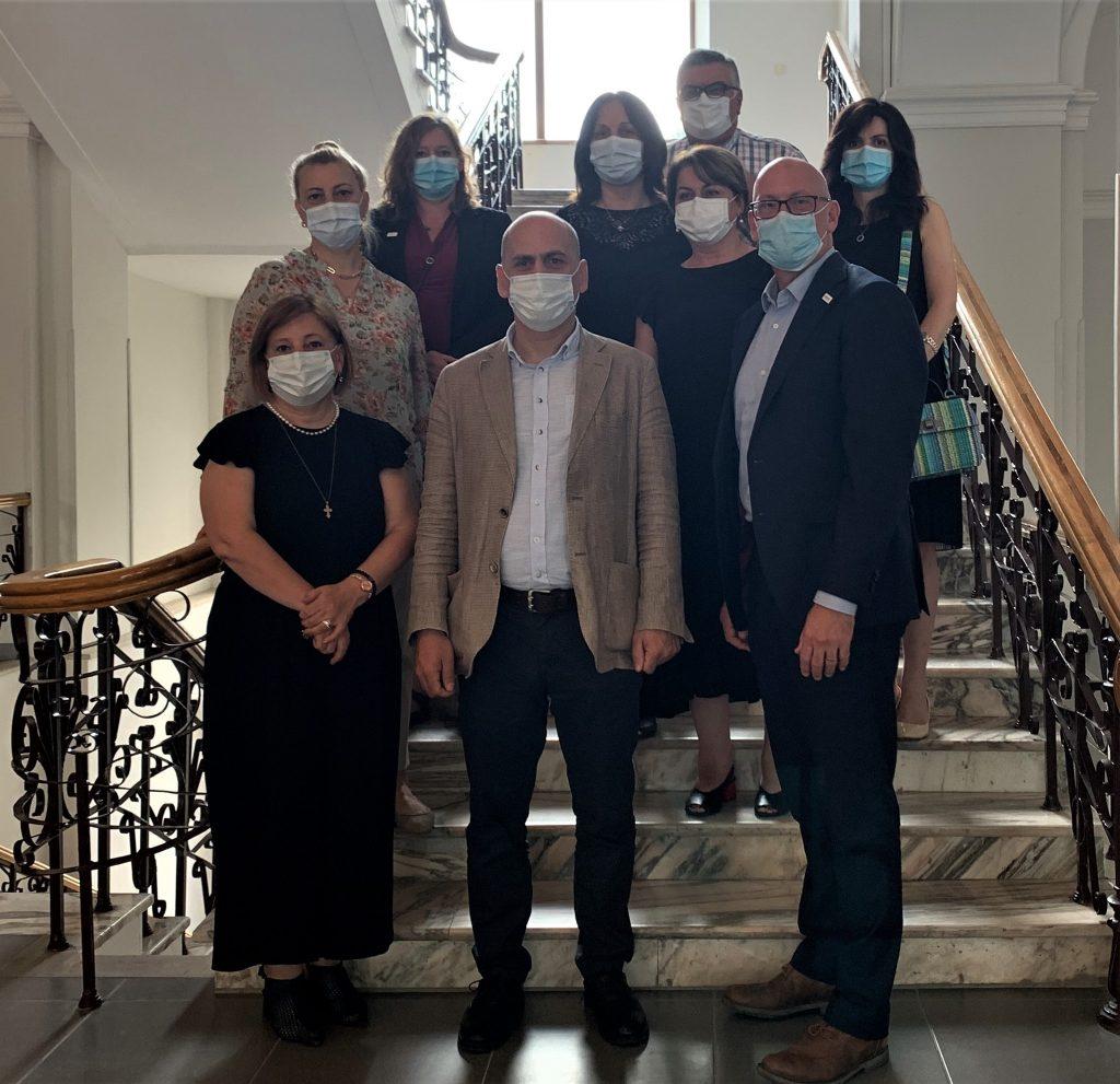 USAID-ის წარმომადგენლები ქუთაისის სააპელაციო სასამართლოში